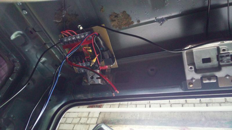 БУ электрикой багажник