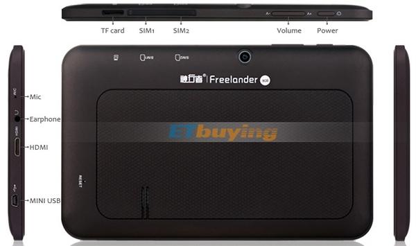 Планшет Freelander PD10 3G