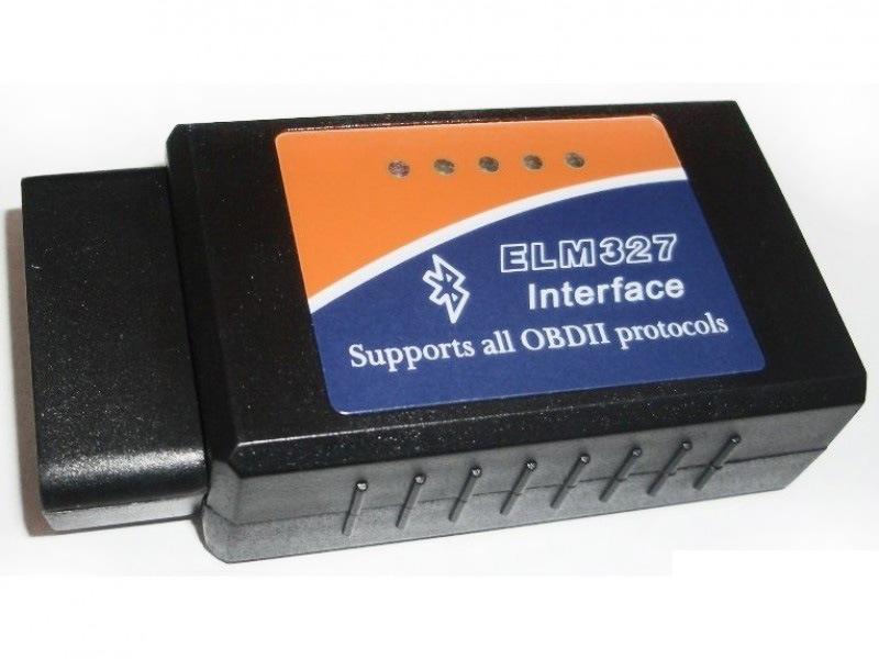 Bluetooth OBD II сканер
