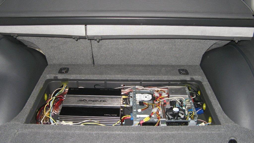 Фальшпол багажника