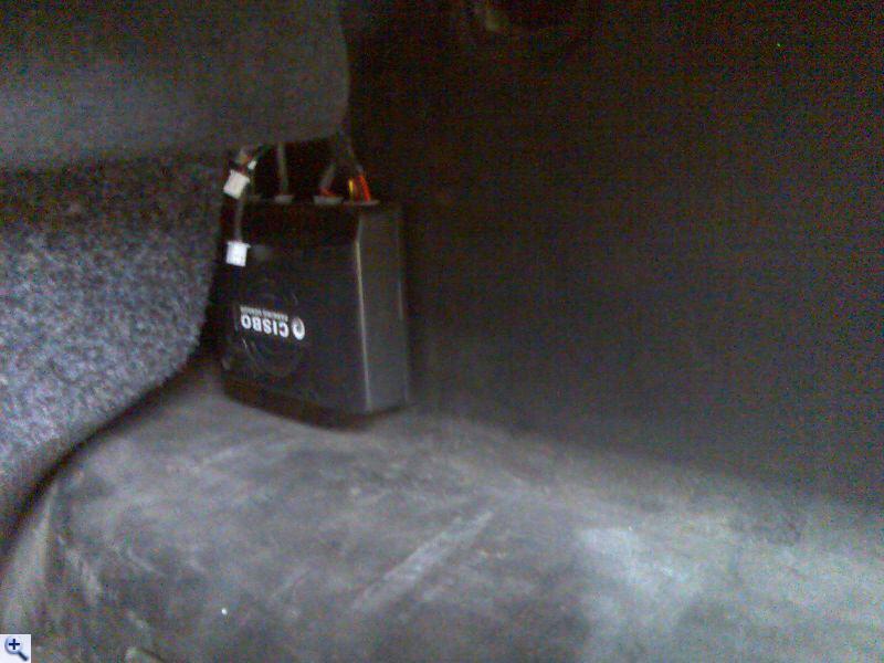 Блок парктроника